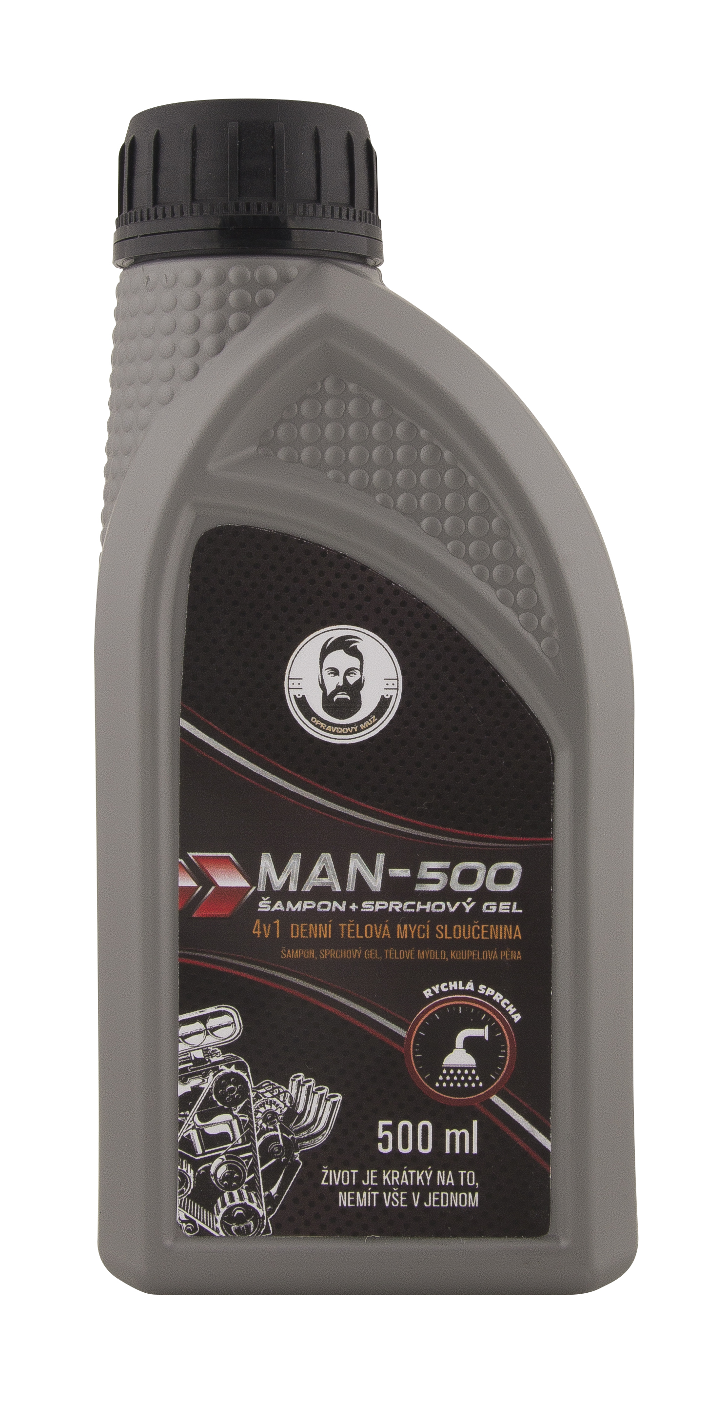 Sprchový gel Man-500 4v1 500ml